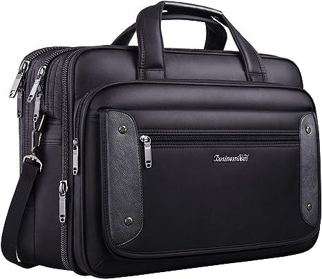 Briefcases Business Laptop Briefcase Shoulder Cross-Body Laptop Business Bag for College Men /& Women for Tablet Notebook Ultrabook