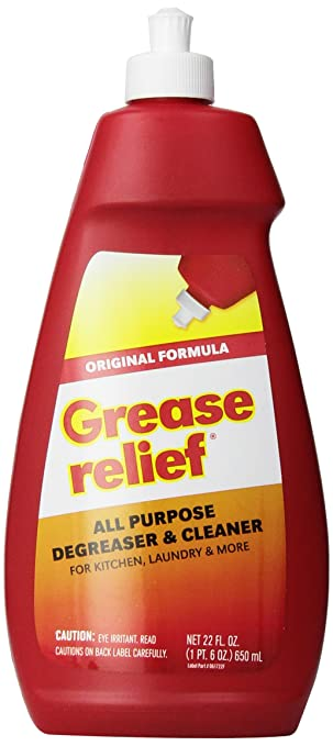 grease relief all purpose degreaser and cleaner 22 fluid ounce - Best Kitchen Degreaser