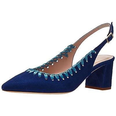 Kate Spade New York Women's Madison Slide Pump, Cobalt, 8 M US: Shoes