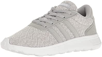 cheaper 19f1c 564b3 adidas Girls Lite Racer K Running Shoe, Clear OnixLight OnixWhite