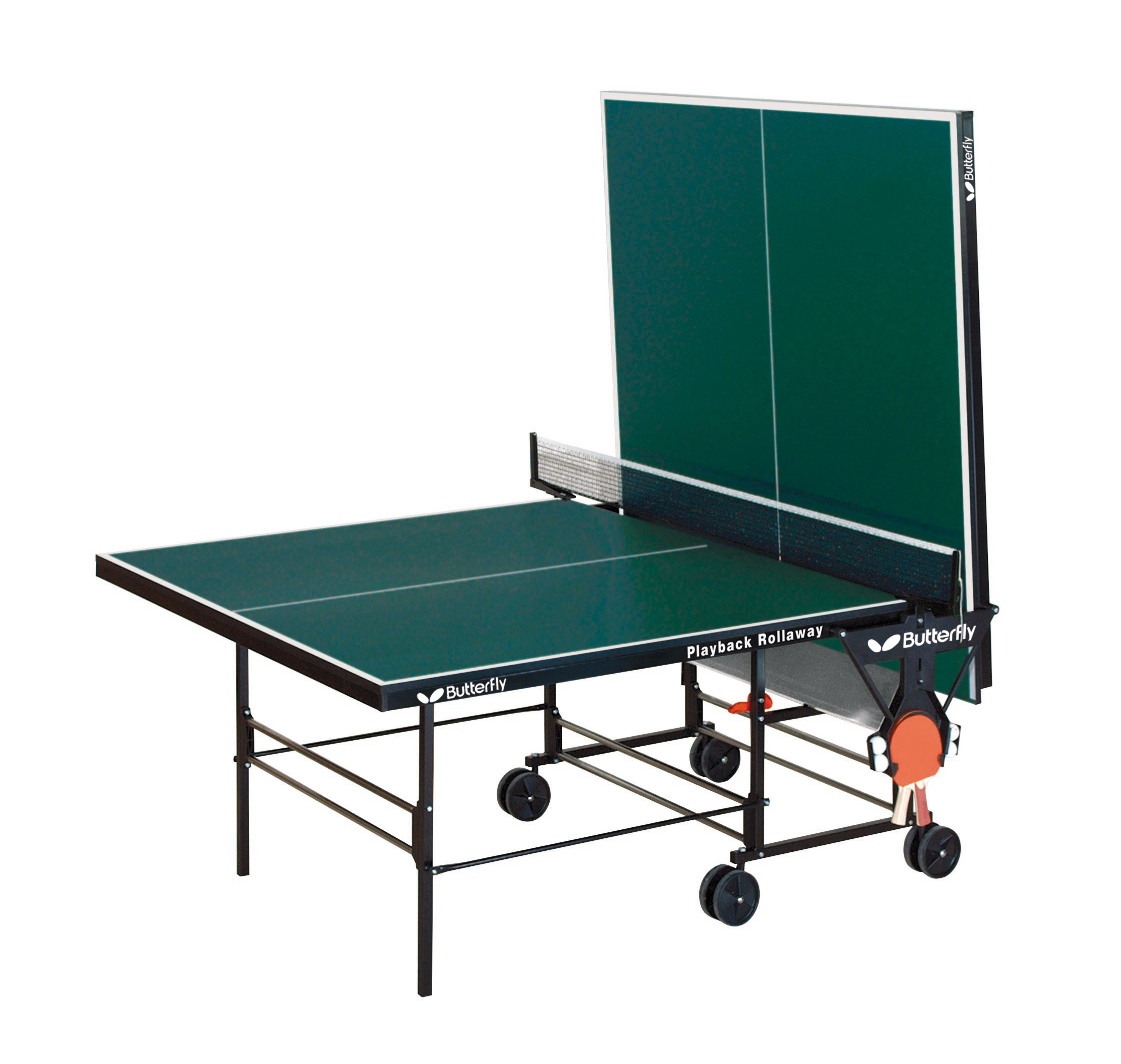 Butterfly Playback 19 Table Tennis Table - 3 Year Warranty - USATT Approved - 3/4'' Top - Fold and Roll