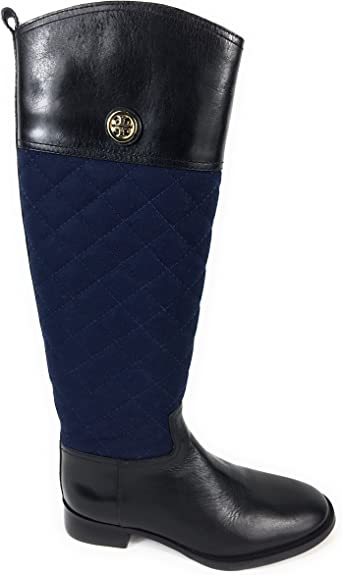 Tory Burch Rosalie Quilted Wool Leather