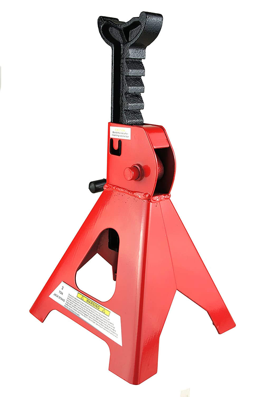 2/X 3T Cavalletti 3000/kg Cavalletti Cric abstellbock 3/tonnellate Rosso