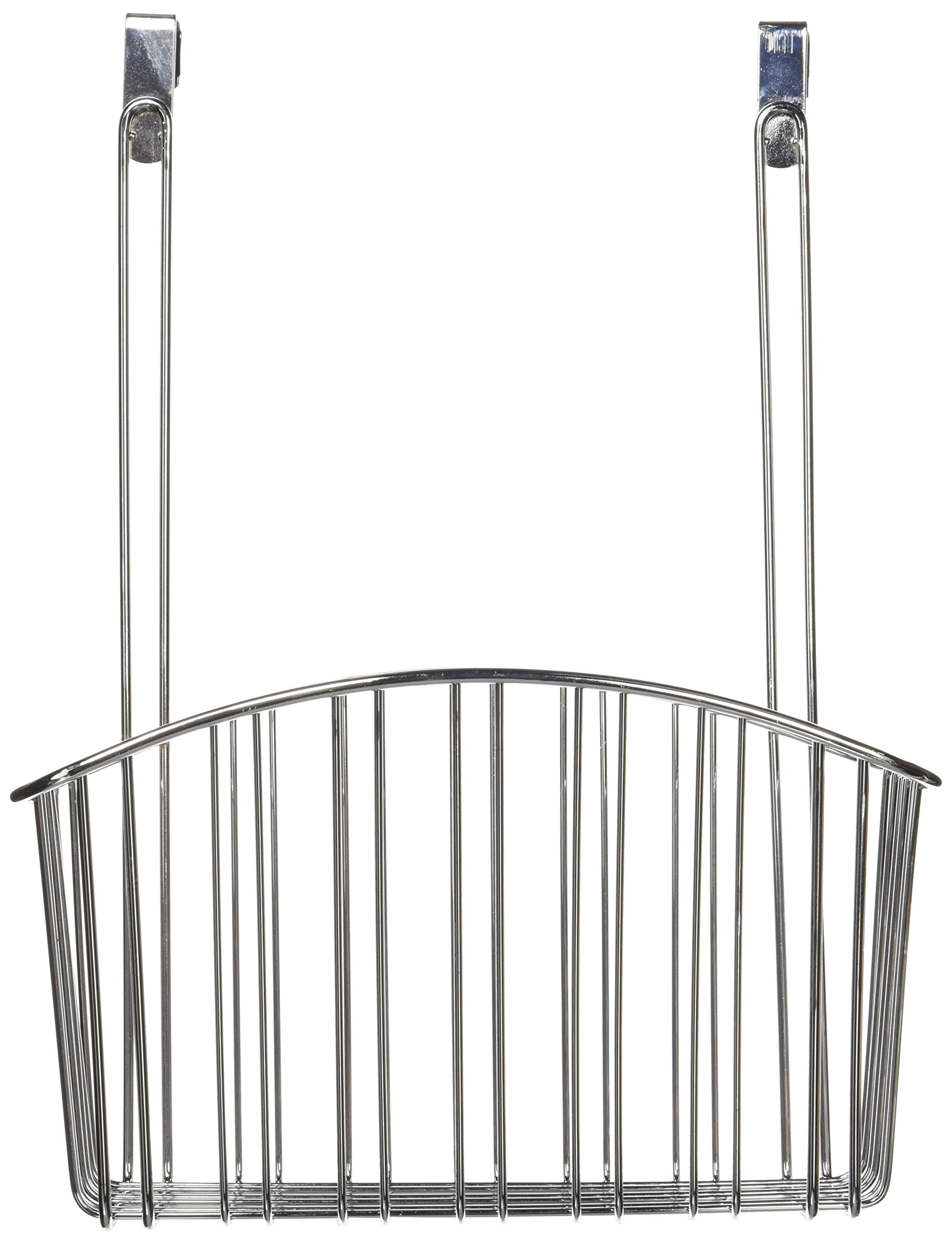 Spectrum Diversified Over-The-Cabinet Contempo Basket, Large, Chrome
