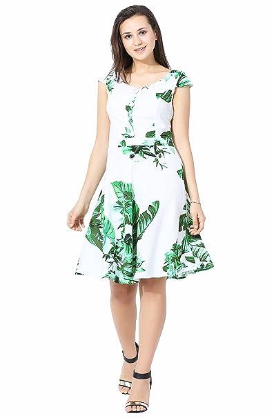 3456e0e64727 POISON IVY Mirabi Women Western Green White