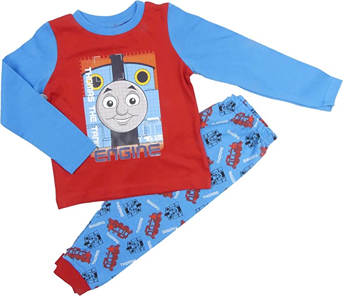 Thomas The Tank Engine and Friends Pyjamas PJs Night Wear Sleepwear Flat Packed
