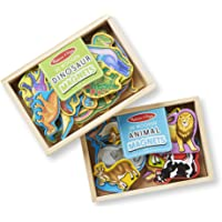 Melissa & Doug Magnetic Animals & Dinosaurs Bundle
