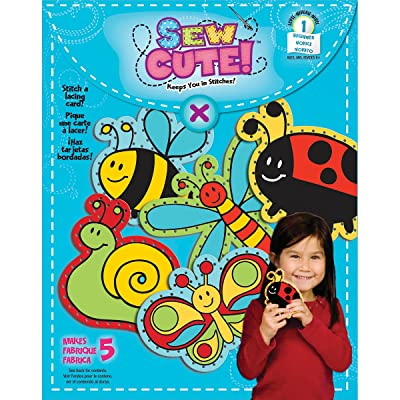 Colorbok Sew Cute Lacing Cards-: Arts, Crafts & Sewing
