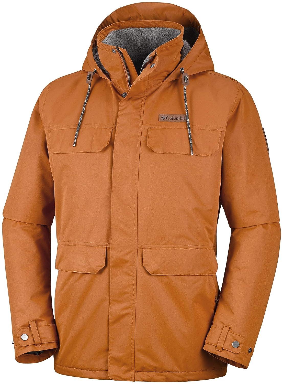 Columbia Wasserdichte Jacke für Herren, South Canyon Lined Jacket, Jacket, Jacket, Polyester, Grau B07L94MTW3 Jacken Menschliche Grenze 661fda