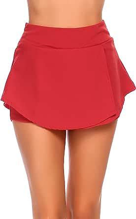 Zeagoo Women Swim Yoga Running Sport Skirt Tankini Swimsuit Surfing Swimwear UV Protection Skorts