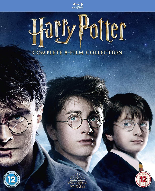 Harry Potter Special Edition Boxset 16 Blu-Ray Edizione: Regno Unito Reino Unido Blu-ray: Amazon.es: Cine y Series TV