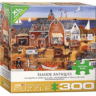 EuroGraphics 5390 Seaside Antiques 300Piece Puzzle: Toys & Games