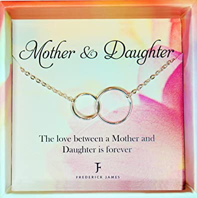 Amazon Mother Daughter Necklace
