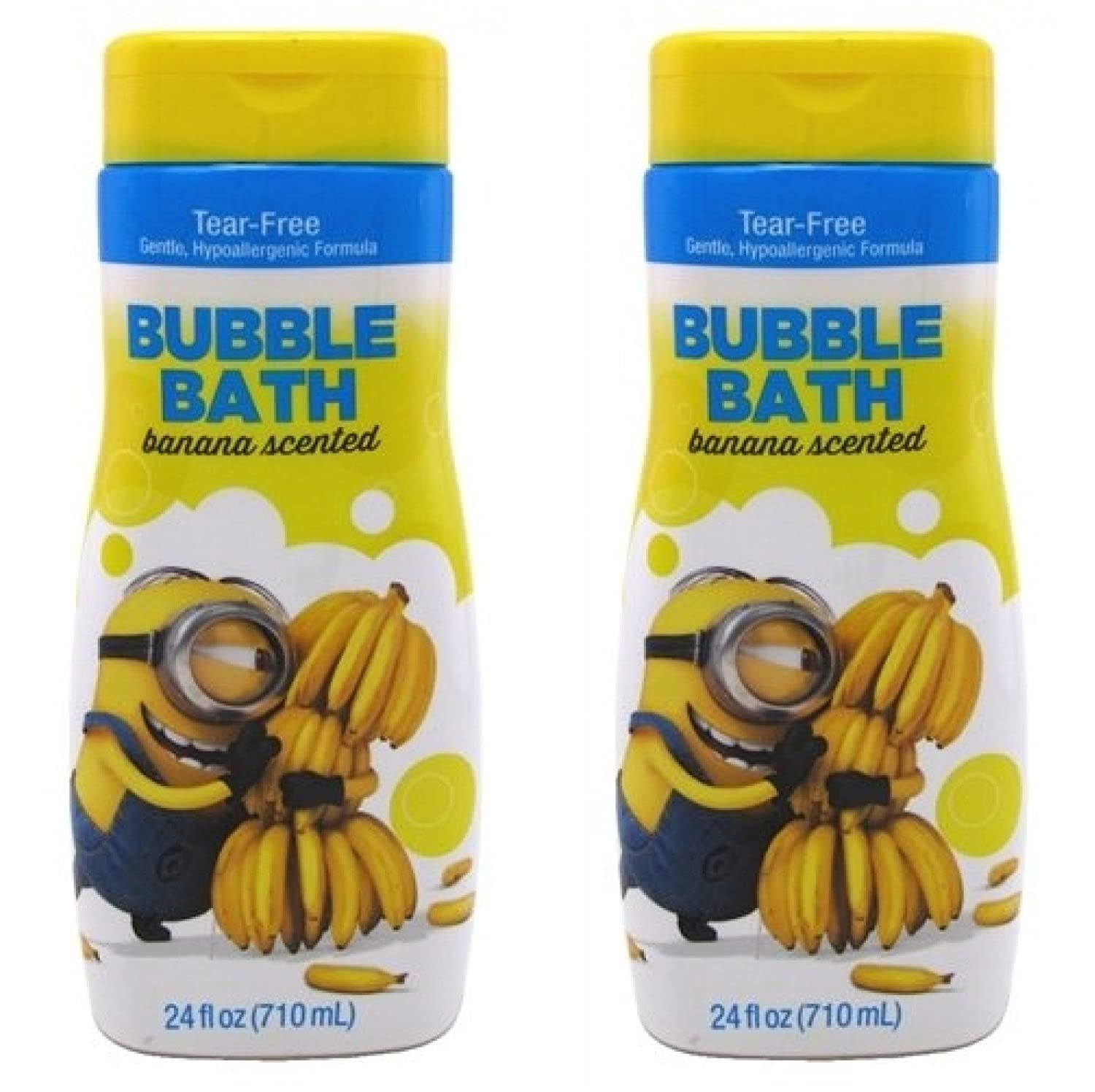 Minions Bubble Bath Banana Scented 24 Ounce (709ml) (2 Pack) B00T56MCQ0