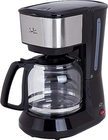 Jata CA390 Cafetera de Goteo . El café clásico en tu hogar De 2 a 18 tazas Frontal de Acero Inoxidable Filtro Permanente Antigoteo Dexconexión Automática Jarra de cristal con Tapa: Amazon.es: Hogar