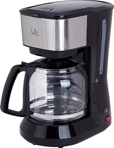 Jata Cafetera de goteo CA390 - De 2 a 18 tazas, Frontal de acero inoxidable, Filtro permanente, Antigoteo, Jarra con tapa