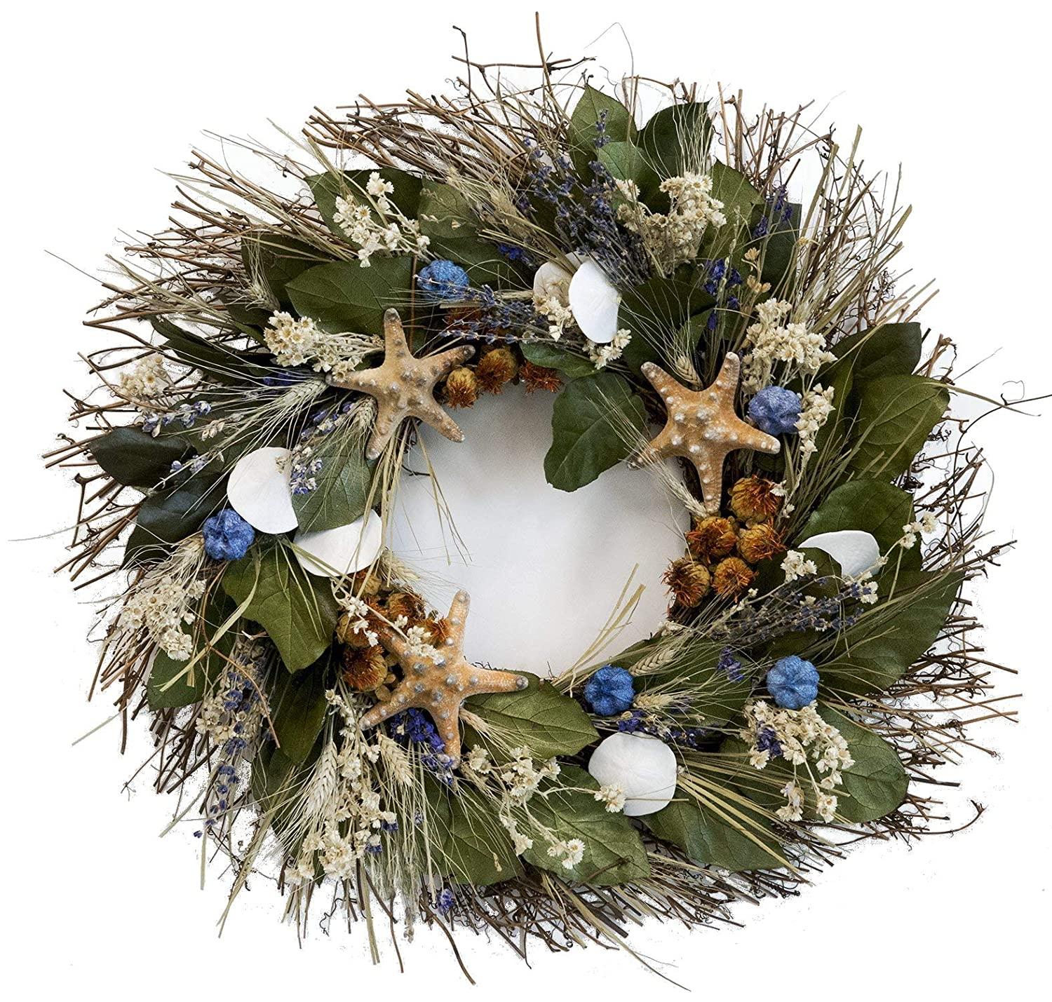 Nautical Christmas Wreath.Nautical Luxuries Big Sur Beach Wreath