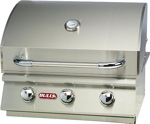 Bull Outdoor Products 69008 LP Steer Premium Drop in Grill, Liquid Propane