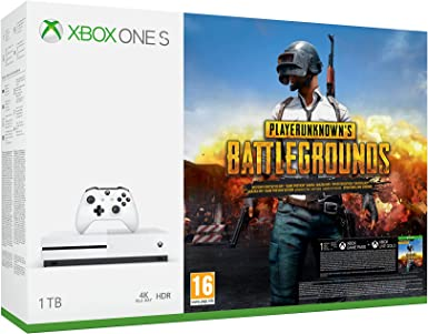 Microsoft Xbox One S - Consola 1 TB + Playerunknowns ...