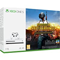 Xbox One S 1To + Playerunknown's Battlegrounds + codes Gears of War 4 + Rare Replay + Halo 5