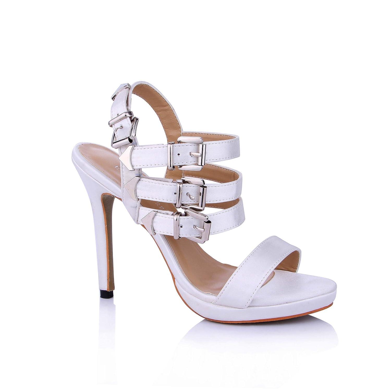Femme Sandales d été blanc nouveau nouveau banquet chaussures Opal femmes 15799 crème, avec les chaussures à haut talon Opal 7982bf8 - boatplans.space