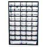 Stalwart 41 Compartment Hardware Storage Box