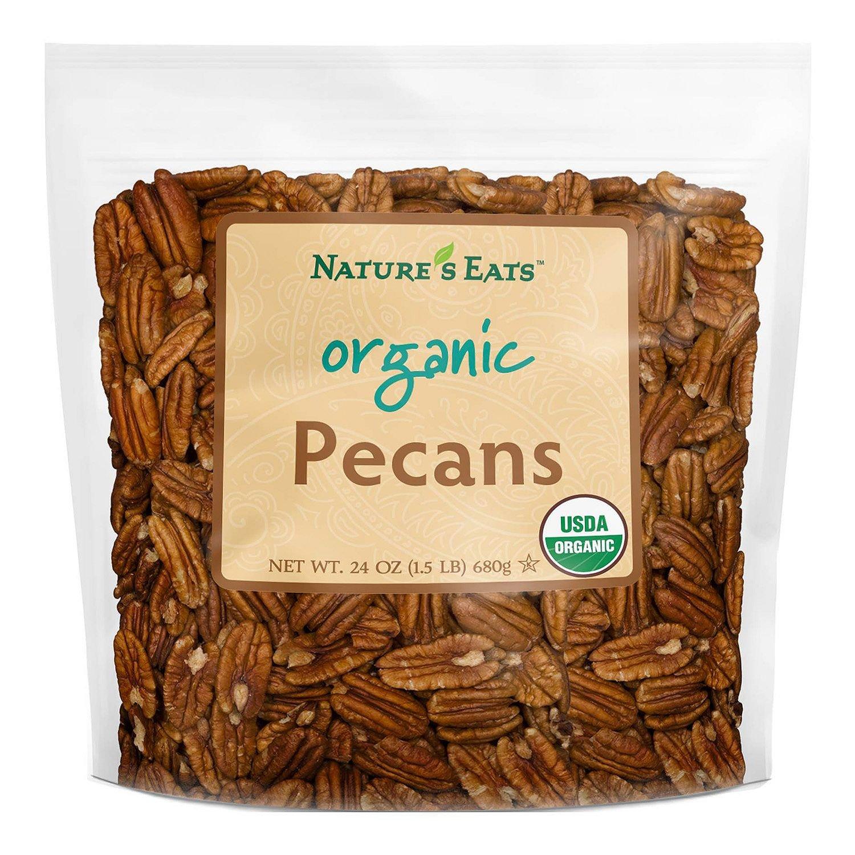 Nature's Eats Organic Pecans (24 oz.)vevo