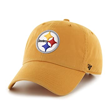 brand new 3eba7 5d613 NFL Pittsburgh Steelers Clean Up Adjustable Hat, Black, One Size Fits All  Fits All, Baseball Caps - Amazon Canada
