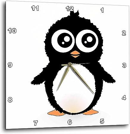 3drose Dpp 113120 2 Mignon Pingouin Noir Et Blanc Dessin