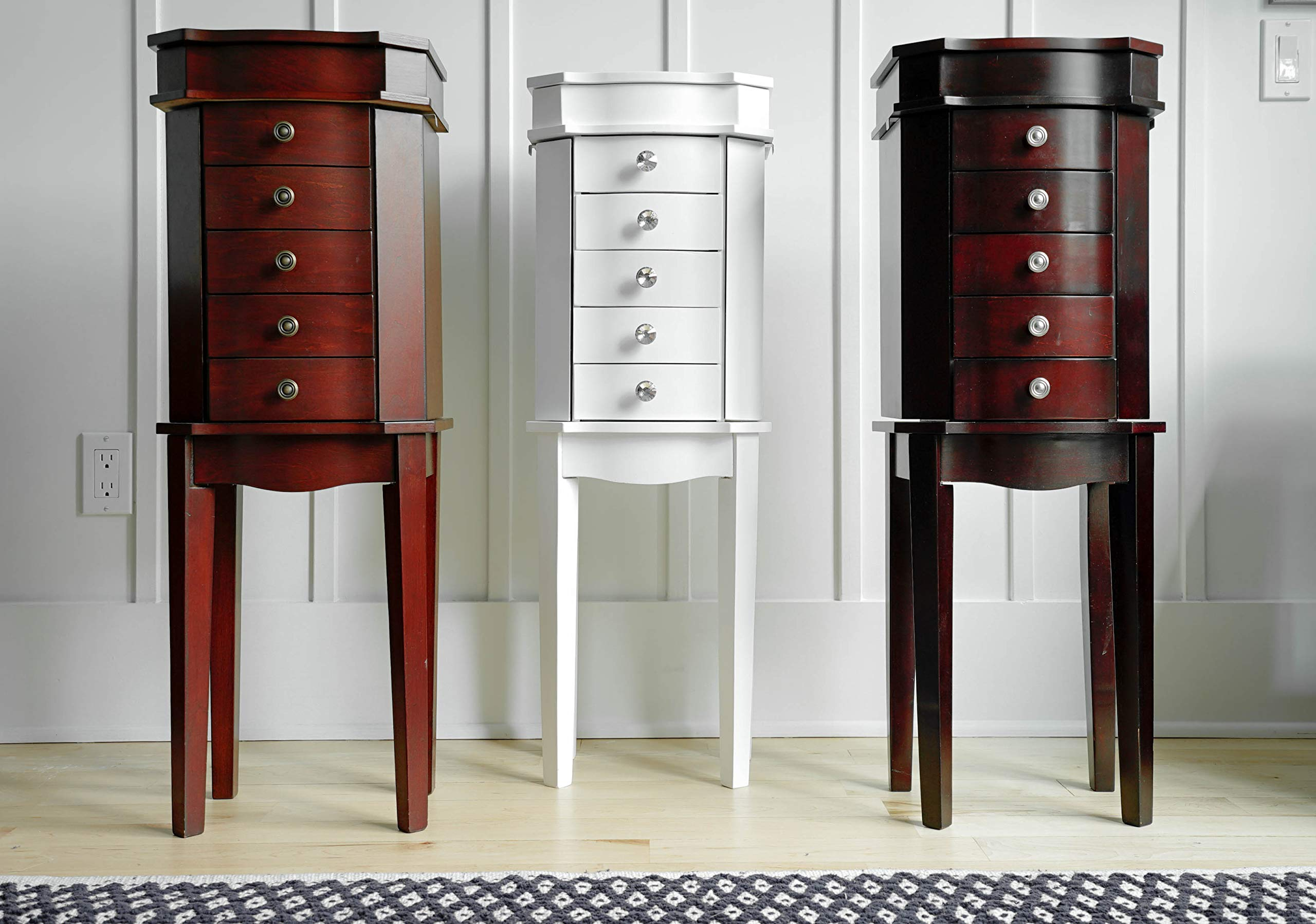 Hives & Honey Meg Espresso Jewelry Armoire by Hives and Honey (Image #5)