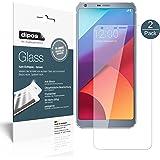 LG G6 Pellicola Protettiva - 2x dipos Glass Protezione Vetro Flessibile 9H