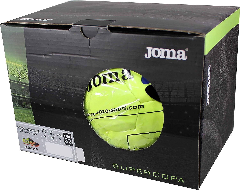 Joma SUPERCOPA JR 903 Navy Zapatilla Fútbol Sala Niño Incluye ...