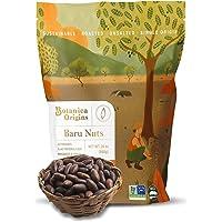 Botanica Origins Premium Wild Baru Nuts, 24 oz Value Pack | Whole | Roasted | Unsalted | Non-GMO | Vegan, Keto and Paleo…