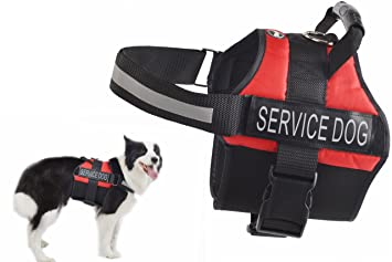 Pet Supplies : Anti Anxiety Service Dog Vest Harness - Stress Relief