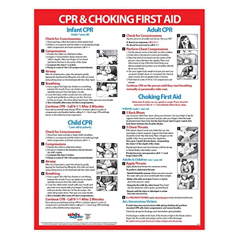 Choking And Cpr Poster For Restaurant Baby Infant Cpr Poster 2019 Laminated First Aid Sign Child And Adult Cpr Instructions Daycare Supplies