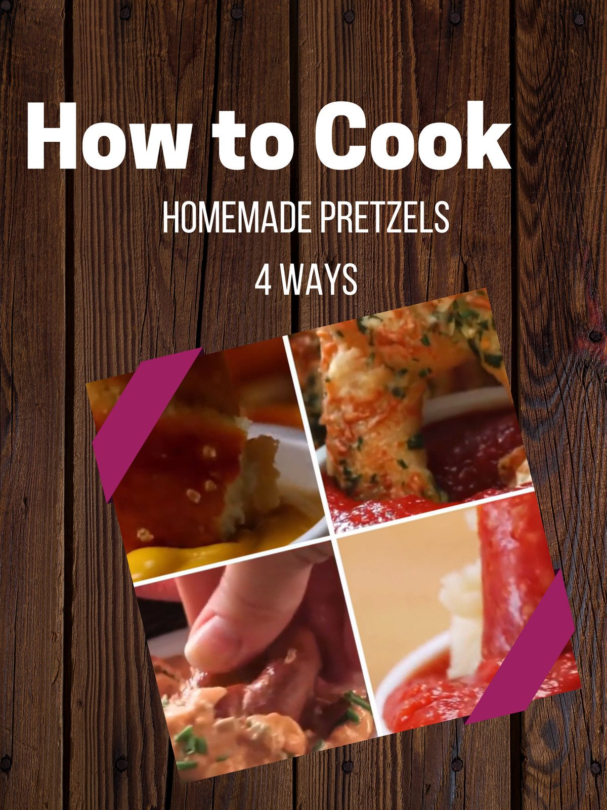 Homemade Pretzels 4 Ways on Amazon Prime Video UK