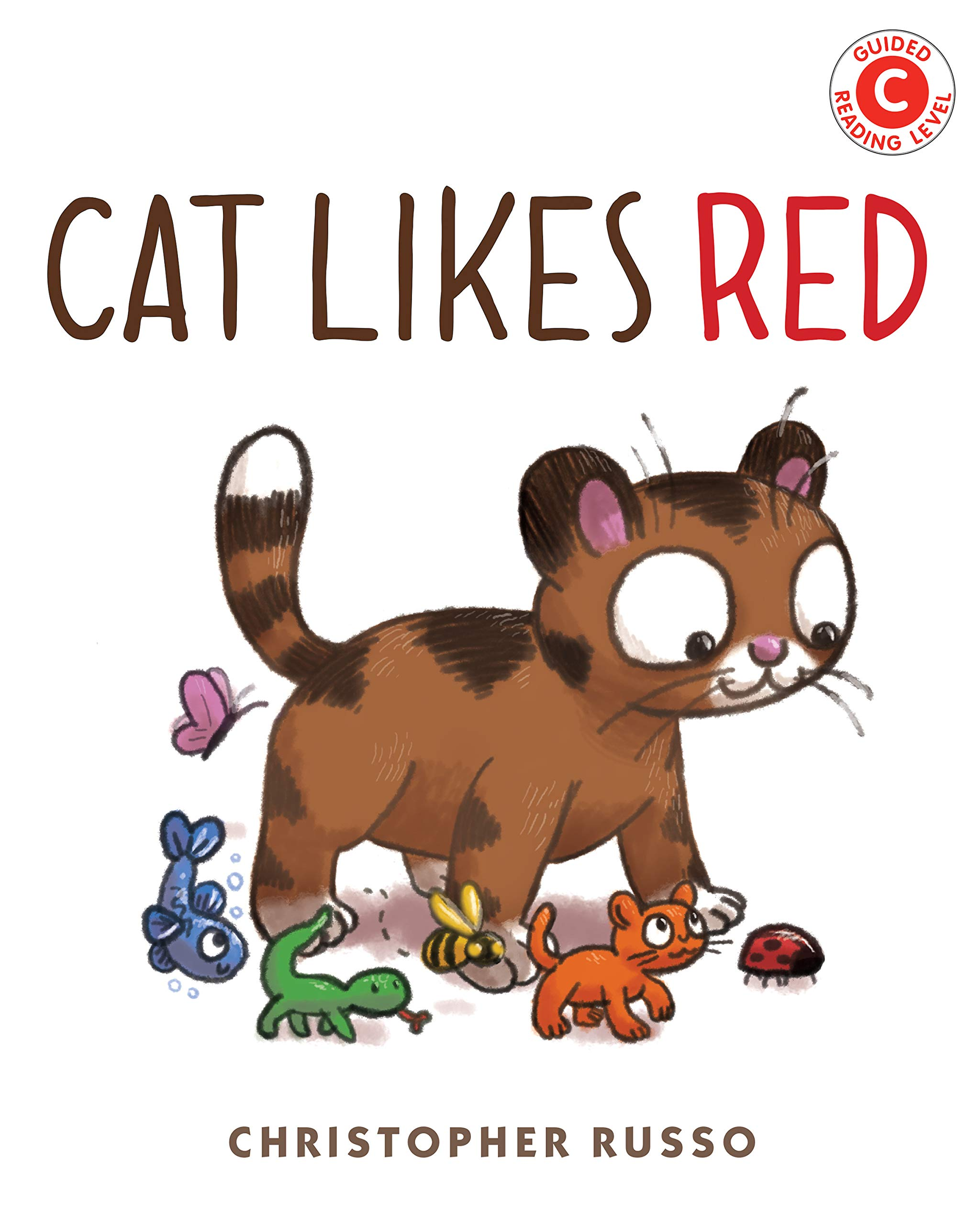 Amazon.com: Cat Likes Red (I Like to Read) (9780823445875): Russo,  Christopher: Books
