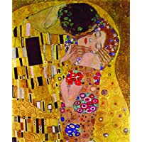 Kanvas Tablo 70x100 BesaHomeDecor The Kiss by Klimt