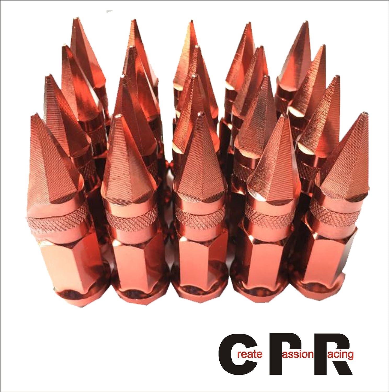 品質の良い合金鉄六角ホイルナットリベット(17hex ) 48mm M12 * 1.5レッド B071RGTXJG