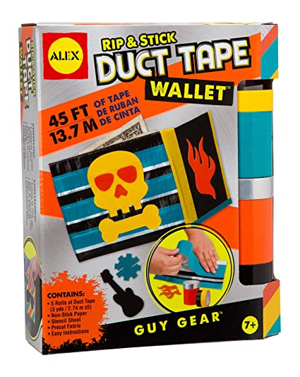 Amazon Alex Toys Guy Gear Rip And Stick Duct Tape Wallet Toys
