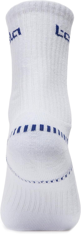 Pack of 6 TSLA Mens Athletic Mid-Calf Socks Cushioned Sports Comfort