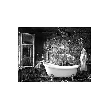 Badezimmer | Panoramabild im XXL Format | Poster | Wandbild | Poster ...