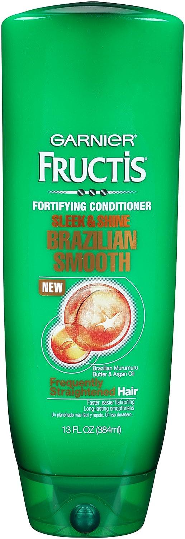 Garnier Hair Care Fructis Brazilian Smooth Conditioner, 13 Fluid Ounce