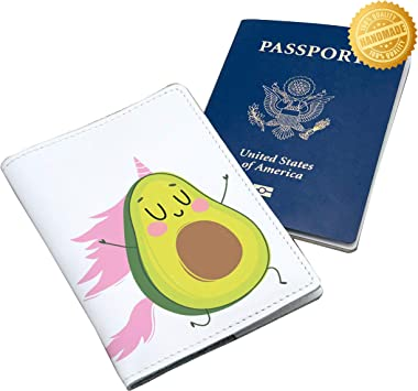 Passport Cover Travel Wallet Cover Case Protector Card Organiser Faux Leather Z