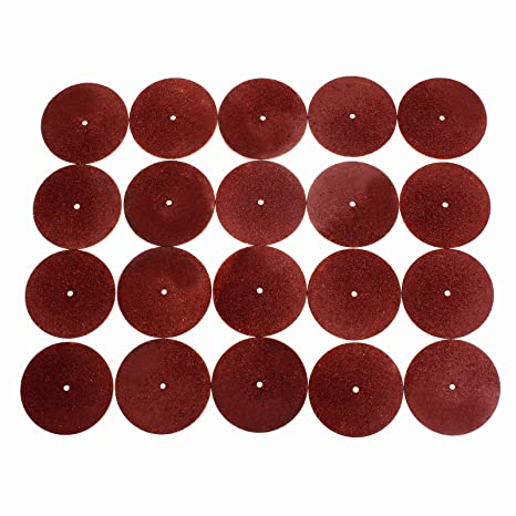 20Pcs 38mm Resin Fiber Cutting Off Wheel Sanding Polishing