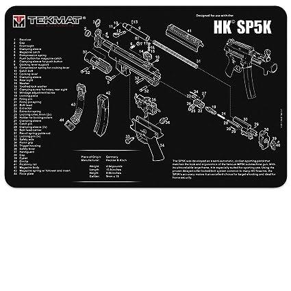 Amazon Tekmat Heckler Koch Sp5k Gun Cleaning Mat 11 X 17