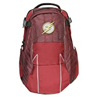 DC Comics The Flash Built Uniform Suit Comic Book Superhero Backpack Laptop Bag