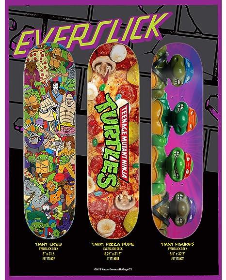Amazon.com : Santa Cruz Skateboard Decks Teenage Mutant ...