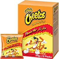 Cheetos Crunchy Flaming Hot 25gm x 12