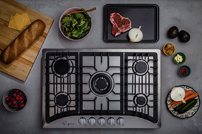 Top 9 30 Inch 4 Burner Stainless Steel Cooktop Gas